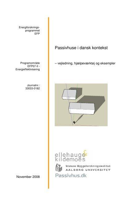 Passivhuse i dansk kontekst - Nordvestjysk Folkecenter for ...