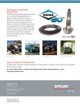 Spicer Ring and Pinion Gearing Data for the Dana 60 - The Expert - Page 3