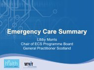 Emergency Care Summary