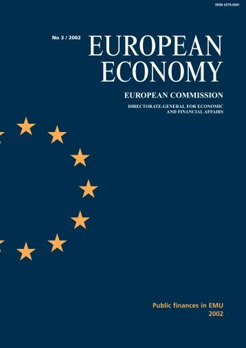 European Economy No 3/ 2002. Public finances in ... - Infoeuropa