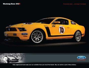 Mustang Boss 302R - Ford Racing Parts