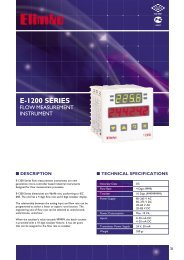 to view and download all detail about this product in PDF ... - Elimko