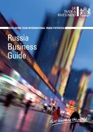 Russia Business Guide - Enterprise Europe Wales