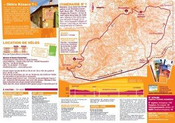 Circuit dans les Ocres - Un coin Tranquille en Provence L ...