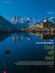 Tour du Mont Blanc - Gabyfunk.de