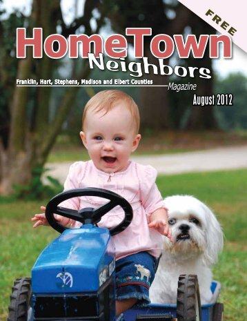 August 2012 - HomeTown Neighbors Magazine