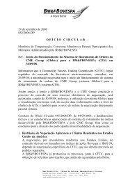 Ofício Circular 052/2008-DP de 29/09/2008 - BM&FBovespa