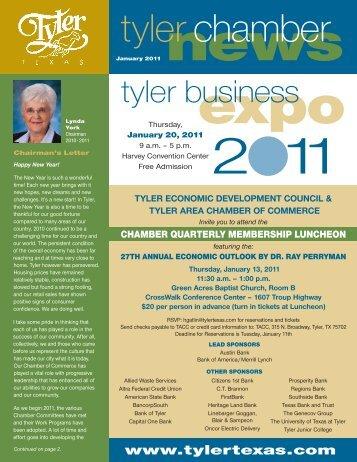 tyler economic development council & tyler area ... - Tyler, Texas
