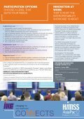 Download IHE Prospectus - HIMSS AsiaPac - Page 2