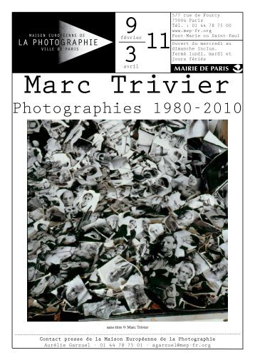 Marc Trivier - Expositions