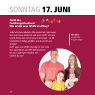 sonntaG 17. Juni - zelttage-marbach.de