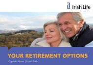 Retirement Options Booklet - Irish Life