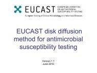 Disks - eucast