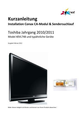 Kurzanleitung Toshiba [PDF, 472 KB] - Ziknet