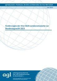 Positionspapier [pdf] - Eine Welt Netzwerk Hamburg eV