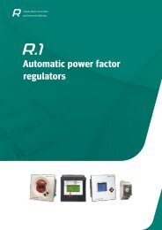 Automatic power factor regulators - Circutor