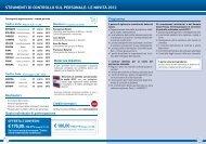strumenti di controllo sul personale: le novità 2012 - Centro Studi ...