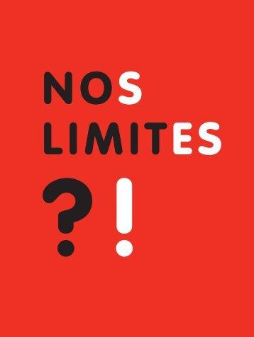 NOS LIMITES - Vie Libre Mulhouse