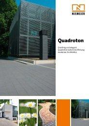 Quadroton - Pflastersteine von Niemeier