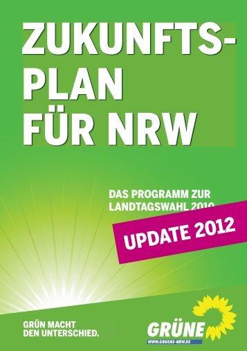 UPDATE 2012 - Bündnis 90/Die Grünen NRW
