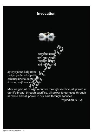 April 2010 - Yuva bharati 2 - Vivekananda Kendra Prakashan