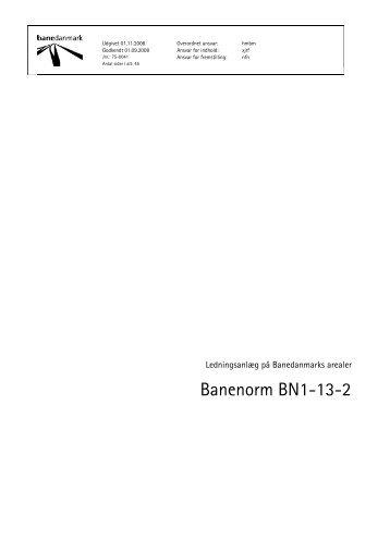 Banenorm BN1-13-2 - Banedanmark