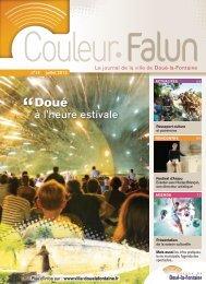 Couleur Falun 14 - Juillet 2012 [pdf - 5Mo] - Doué la Fontaine
