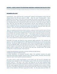 excerpts -‐ ward 6 newsletter regarding broadway widening and ...