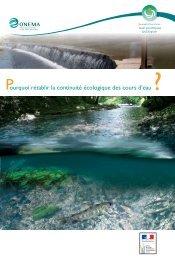 Pourquoi rétablir la continuité écologique des cours d'eau, par l ...