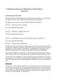 Uddannelsesordning for uddannelsen delsmedeud-dannelsen