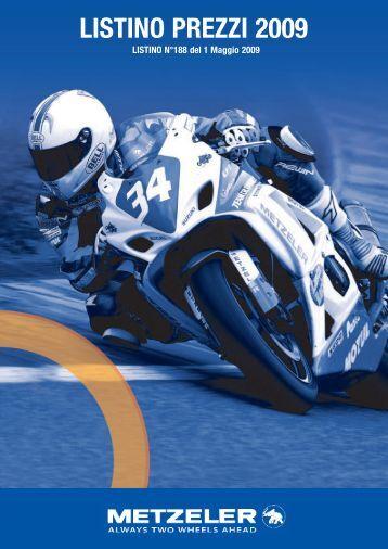 LISTINO PREZZI 2009 - Pneumatici per Moto a Roma