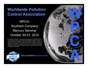 Key Factors in Activated Carbon Injection - Wpca.info