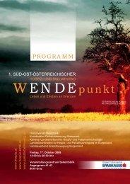 Programm - Koordination Palliativbetreuung Steiermark