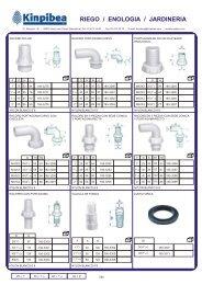 Racord nylon metálicos - Kinpibea
