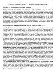 Inde des Gupta - Histoire géographie Dijon