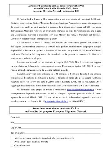 Proposta di gestione del Centro di documentazione unitario - Fondaca