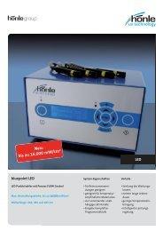 Produktinformation bluepoint LED - Dr. Hönle AG