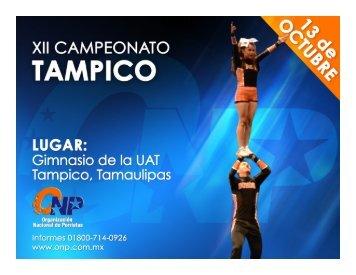 Info Tampico 13 de Octubre - ONP