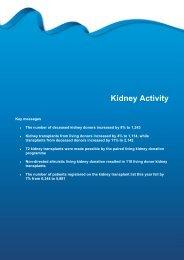 Section 5 - Kidney activity - Organ Donation