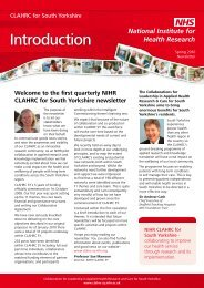 download the PDF here - CLAHRC SY - NIHR
