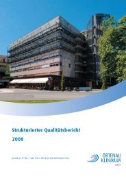 strukturierter Qualitätsbericht 2008 - Krankenhaus.de
