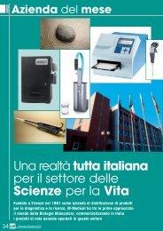 Una realtà tutta italiana per il settore delle Scienze ... - Promedianet.it