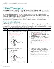 mTRAQ™ Reagents - AB Sciex