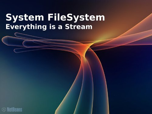 System FileSystem - NetBeans Wiki