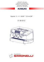 """Esplosi: S - V - DIGIT """"2-3-4 GR"""" 01-08-2012"""