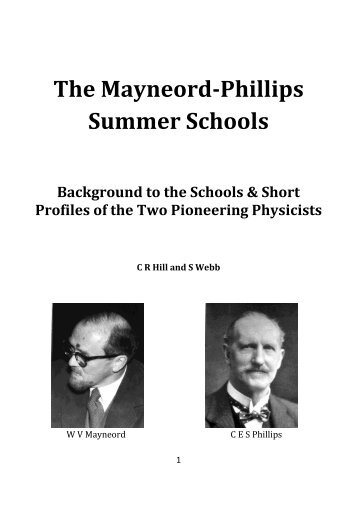 here - The Mayneord Phillips Trust