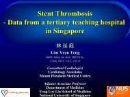 DES stent thrombosis