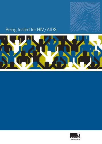 Being tested for HIV
