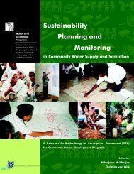 Sustainability Planning and Monitoring