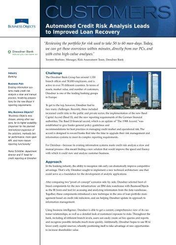 Business Intelligence Customer Case Study: Premier Bank Card - YouTube